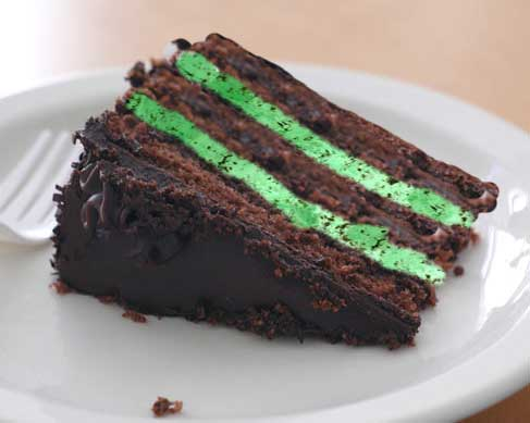 Mint Chocolate Ice Cream Cake Recipe - Best Collections Cake Recipe
