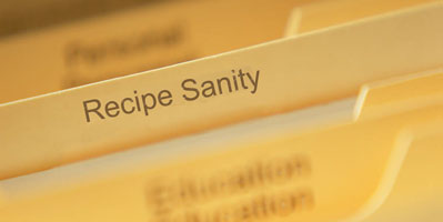 recipe sanity 5 Easy Action Steps to Create Cookbooks (and De clutter Too!)