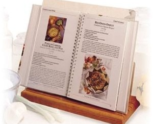 cookbook holder stand 2 Cookbook Holder Stand Reduces Recipe Flapping