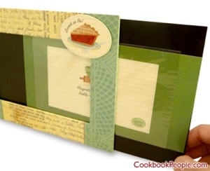 photo recipe frame Recipe Card Frame: A Great Big Stocking Stuffer