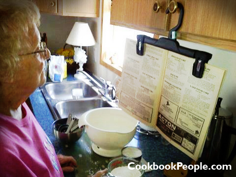 budget cookbook holder Low Budget Cookbook Holder
