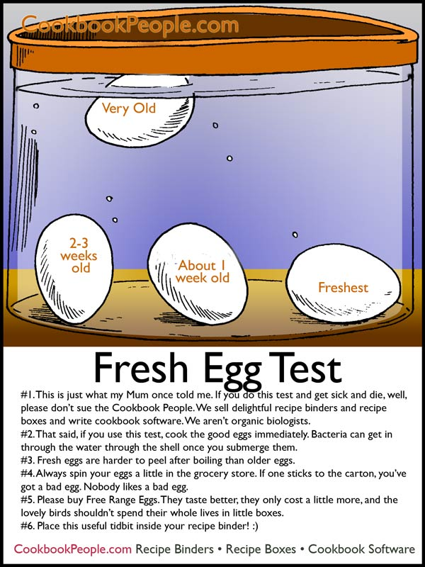 fresh eggs Check for Fresh Eggs