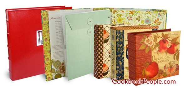 recipe binders e1359583078514 Planning to Get Organized This Year? Start in the Kitchen with a New Recipe Binder