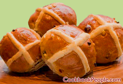 Hot cross buns Make a Recipe Box For Your Spring Recipes!