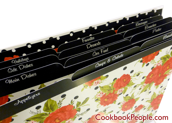 CRG DottedRoseFPB 008 Eight Reasons to Give Your Mom a New Recipe Binder This Mothers Day