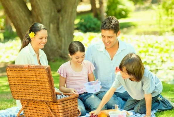 family picnic Recipe Binder of Safe Foods for Allergy Sufferers