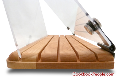 Have you ever had a day in the kitchen where nothing went right? It is  sometimes impossible to work with a larger recipe binder or cookbook while  in the ...