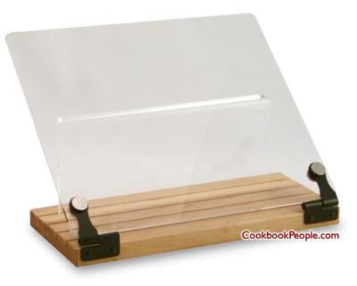 Wooden Cookbook Stand Australia