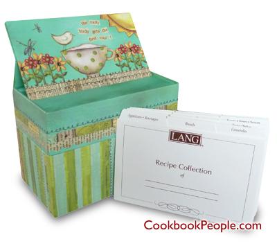 Recipe Cards And Box Recipe Card Box Color my