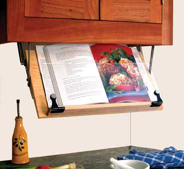 Groovy Under Counter Cookbook Or Ipad Holder Home Interior And Landscaping Palasignezvosmurscom